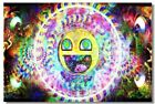 Poster Psychedelic Trippy Colorful Ttrippy Surreal Abstract Digital Art Print 5