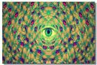 Poster Psychedelic Trippy Colorful Ttrippy Surreal Abstract Astral Art Print 59