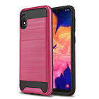 for SAMSUNG GALAXY A10E, [Protech Series] Phone Case Shockproof Brushed Cover