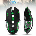 2400 DPI 7 Colors LED Rechargeable 2.4GHz Wireless USB Optical Gaming Mouse Mice