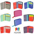 Mywalit Small Leather Wallet With Zip Around Purse 226 image