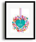 Wedding Song Lyrics Inspired Art Music Print Wall Decor - Love Song by The Cure