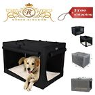Travel Pet Home Indoor Outdoor for Dog Steel Frame Home Collapsible Soft Crate