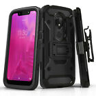 "for TMOBILE REVVLRY (5.7"" inch), [Tank Series] Phone Case Cover & Holster Clip"