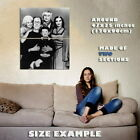 151123 The Munsters Family Black and White Wall Poster Print UK