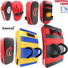 Kyпить Kick Shield MMA Boxing Focus Pads Arm Punching Training Sparring Black & Red на еВаy.соm