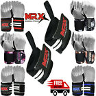 Power Weight Lifting Wrist Wraps Supports Gym Workout Bandage Straps Grip 18""