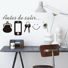1x Reminder Wall Stickers Self Adhesive Modern Wallpaper Wall Art Door Decals