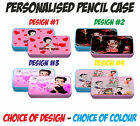 BETTY BOOP PERSONALISED PENCIL CASE / TIN - Blue or Pink £7.95 GBP on eBay