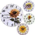 Large Wall Clock Oversized Living Room Silent Decorative Home Modern Big Office