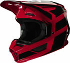 Fox Racing V2 Hayl Youth MX Offroad Helmet Flame Red