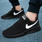 Mens Sneakers Running Shoes Fashion Breathable Mesh Casual Athletic Tennis Sport