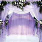 5m Crystal Tulle Fabric Organza Craft for Wedding Party DIY Decoration Supplies