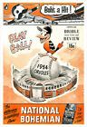 Baltimore Orioles - 1954 Program poster print on Ebay