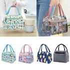 Printed Lunch Bag Insulated Thermal Cool Bags Picnic Supply Food Cartoon Bo I3j1