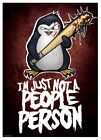 Psycho Penguin Poster People Person 32x44cm