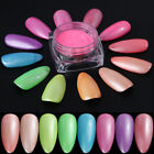 1G Fluorescent Nail Art Glitter Powder Dust Nail Gradient Pigment Decoration DIY