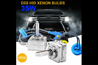 Pair of D5S 35W Super White Xenon HID Replacement Head Lamp Light Bulbs $54.99 USD on eBay