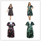 Women's Summer Party Cocktail Maxi Dress Casual Midi Bridesmaid Dress Plus Size