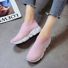 Women Breathable Slip On Trainer Hollowing Out Casual Tassel Sport Casual Shoe