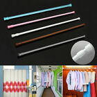 Multifunctional Extendable Net Loaded Voile Tension Window Curtain Rail Pole Rod