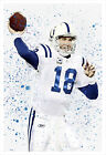 Peyton Manning - Colts - poster print $12.5 USD on eBay