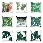 Leaf Case Home Decoration Covers Garden Outdoor Soft Pillow Cushion Floral