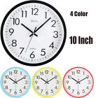 10-inch Modern Minimalist Wall Clock  Silent Clock Brief Fashion Office Clock