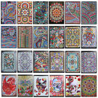 DIY Mandala Special Shaped Diamond Painting 60 Pages A5 Notebook Diary Book Kits