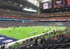 2 Tickets Houston Texans Los Angeles Rams 8 29