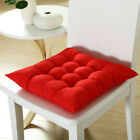 Square Thicker Cushions Chair Seat Pad Dining Bed Room Garden Kitchen G6UK