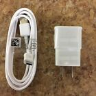 New Wall Charger Adapter + Micro USB Data Cable For Samsung, Sony, LG Google LOT