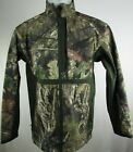 Lodge Outfitters Men's Camo Hunting Full-Zip Jacket with Zip Pockets
