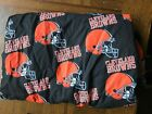 NFL Cleveland Browns Cotton Fabric by the Yard Great for crafts Sewing $8.98 USD on eBay