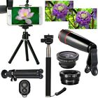 10 in 1 Accessories Phone Camera Lens Top Travel Kit For Cell Phone iPhone 8/7/6