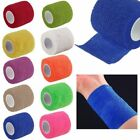 12x Health Care Bandage Tape Elastic Wrap Self-Adhesive Stretch First Aid Tape