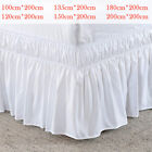 Elastic Bed Ruffle Skirt Easy Fit Wrap Around Soft Twin Full Queen King Size US image