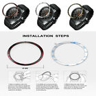 2PCS Bezel Ring Adhesive Cover Anti Scratch Metal For Samsung Galaxy Watch 46MM image