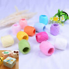 1Roll raffia ribbon cord packaging paper rope packing wedding party decorationTR