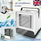 Mini Air Conditioning Conditioner Unit Fan Portable Low Noise Home Cooler+USB AC