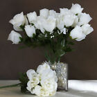 168 Silk BUDS ROSES Wedding FLOWERS Bouquets Wholesale Supply for Centerpieces