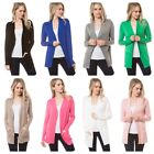 Kyпить Women's  Long Sleeve Solid Open Front Cardigan Sweater (S-3X) на еВаy.соm