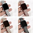Bling Crystal Diamond Rhinestone Band Wrist Watch Strap For Apple Watch iwatch  image