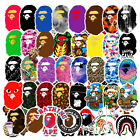 3Pcs A Bathing Ape Bape Tide Brand Vinyl Sticker Skateboard Luggage Laptop Decal