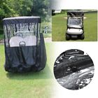 2/4 Passengers Golf Cart Cover Rain Protector Storage Fits For EZ GO Club Car