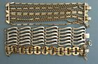 CHOICE Monet 1950s AS-IS Bracelets  Belinda Waves,  Machine Age,  Many chains $8.0 USD on eBay