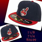 CLEVELAND INDIANS fitted hats by New Era on Ebay