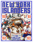 New York Islanders Stanley Cup Championships - poster print $22.5 USD on eBay