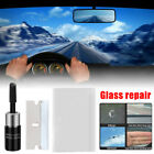 Car Window Cracked Glass Repair Recover Kit Windshield DIY-Tools Glass Scratch