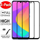 [2-Pack] For Xiaomi Mi A1 A2 A3 Lite Full Cover Tempered Glass Screen Protector